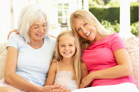 Grandmother, mother, daughter all helped by homeopathy