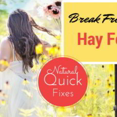 EFFECTIVE NATURAL REMEDIES for HAY FEVER