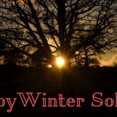 Positive thoughts for the winter solstice