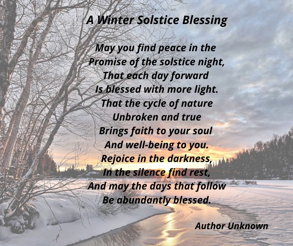 A Winter Solstice Blessing