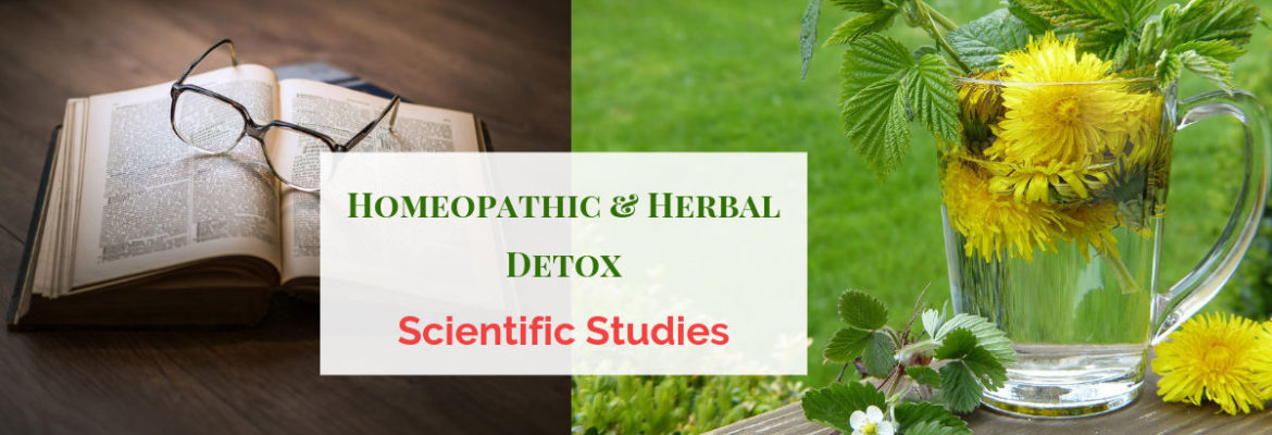 Homeopathic and Herbal Detox Studies